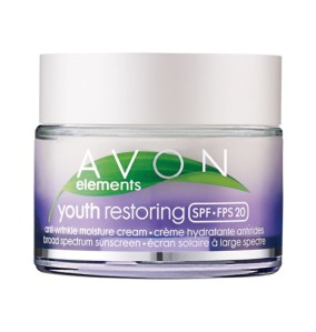 Avon Elements Youth Restoring anti wrinkle moisture cream spf 20