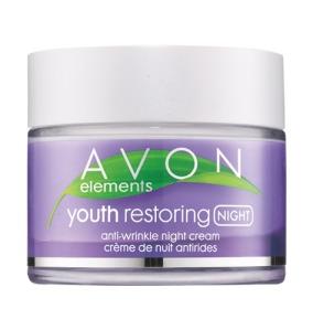 Avon youth restoring night cream